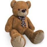XL Kuschel Riesen Teddybär groß in Braun Kuscheltier Stofftier Plüschbär Teddy