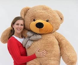 Joyfay Riesen Teddybär 2m Hellbraun