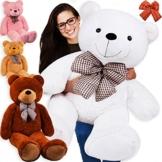 KIDIZ® XXL Teddybär Riesig 175cm dunkelbraun
