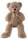 Riesen Teddybär Kuschelbär XXL 100 cm groß Plüschbär samtig weich