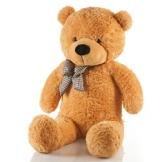 Riesen Teddybär XXL Kuschelbär 120 cm Original Feluna Hellbraun