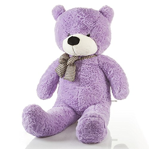 Riesen Teddybär XXL Kuschelbär 120 cm Original Feluna  Lila