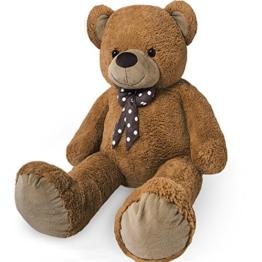 XXL Kuschel-Riesen-Teddybär groß in Braun
