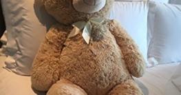 XXL Teddybär 1m Hellbraun