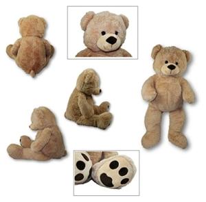 XXL Teddybär Riesen Bär 1m hellbraun