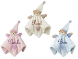 Baby Kuscheltuch Bär mit Namen bestickt Taufe - 1