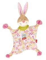sigikid, Mädchen, Schnuffeltuch Hase, Bungee Bunny, Rosa/Bunt, 48933 - 1